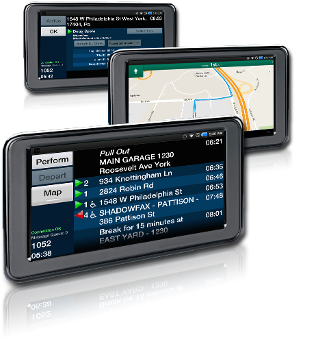 Mobile Data Tablet Image By Ecolane