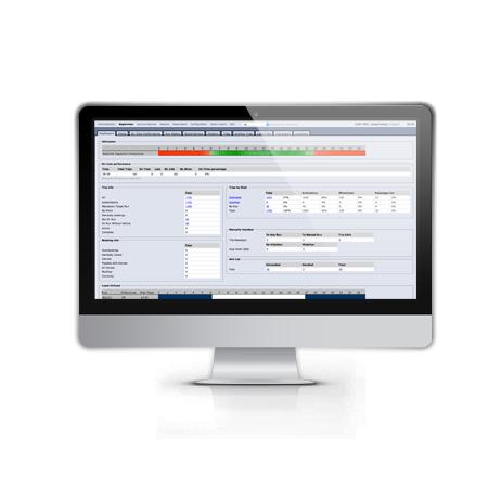 web-based transit management
