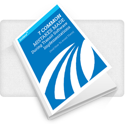 7 Common Mistakes Made Using Transit Software Implementations eBook