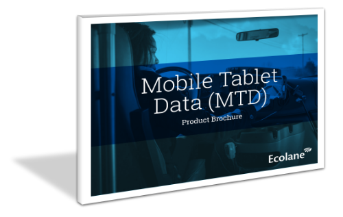 mobile data tablet brochure