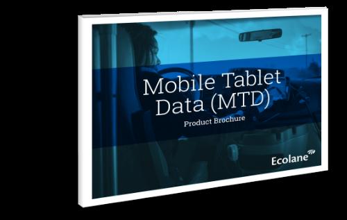 mobile data tablet brochure