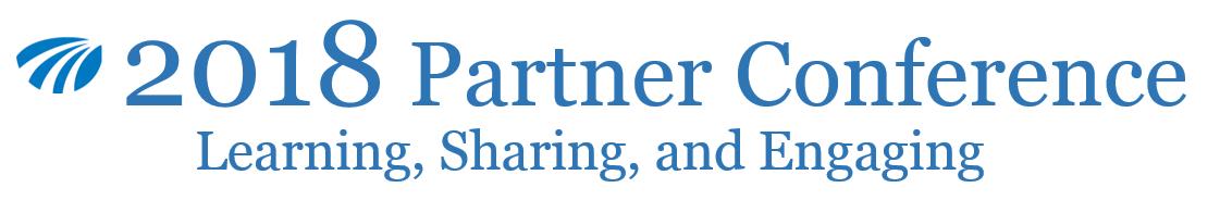 2018 Partner Conference Email Banner