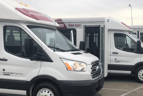 San Joaquin RTD Vans