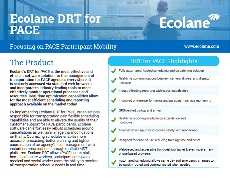DRT for PACE Product Sheet
