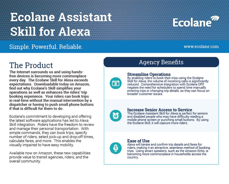 Ecolane Assistant Skill - Graphic 2-1