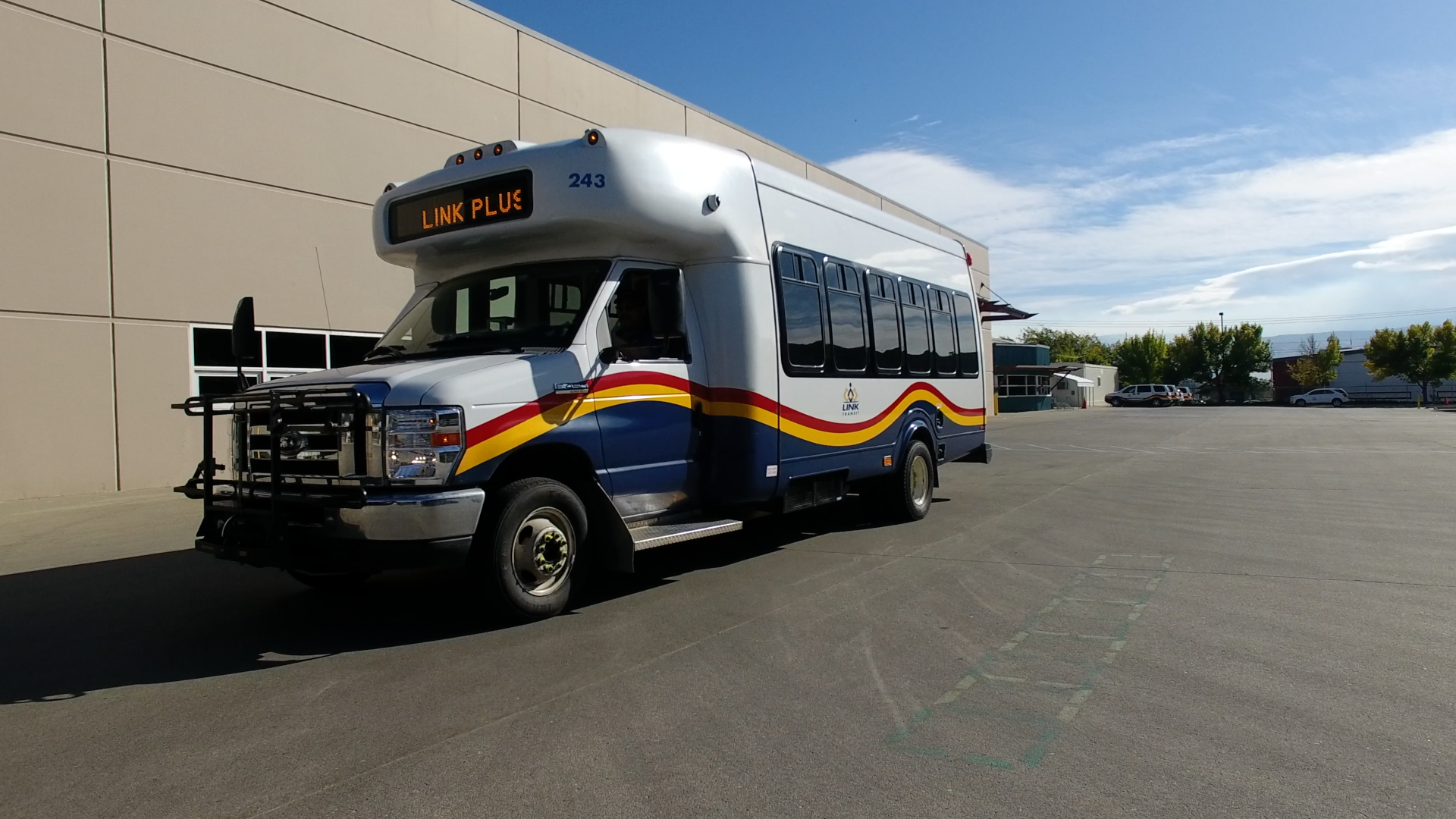 Bus Using Ecolane's Transportation Software and Demand Response Management System