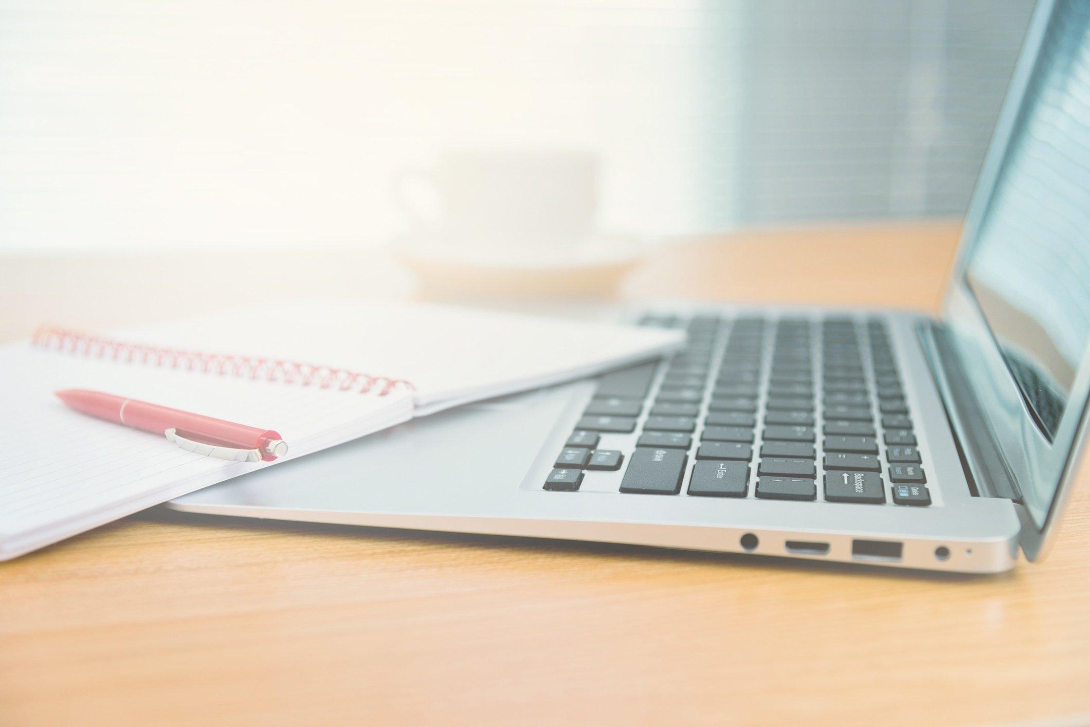 Laptop Running DRT Software