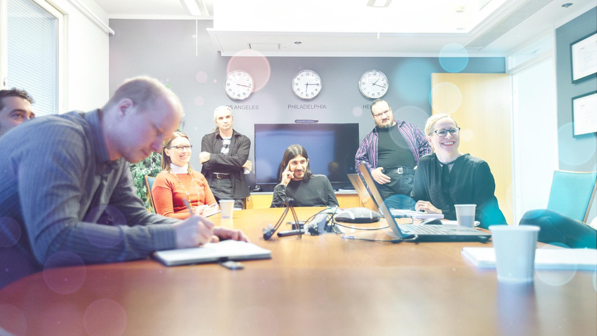 Ecolane team in Finland
