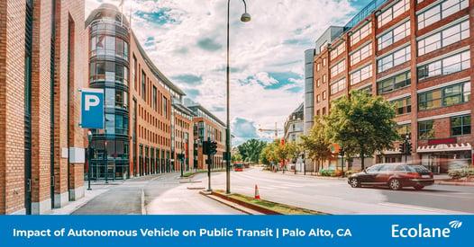 Impact of Autonomous Vehicle on Public Transit