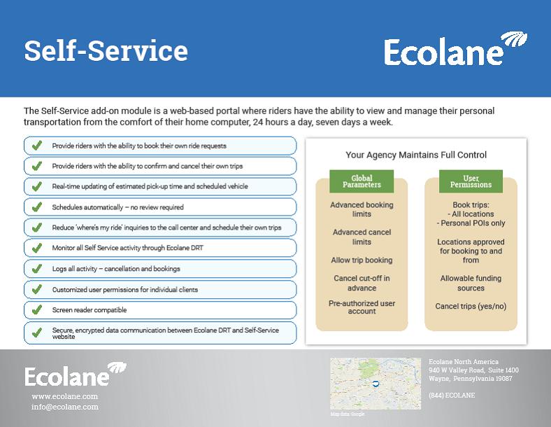 Self-Service Sheet