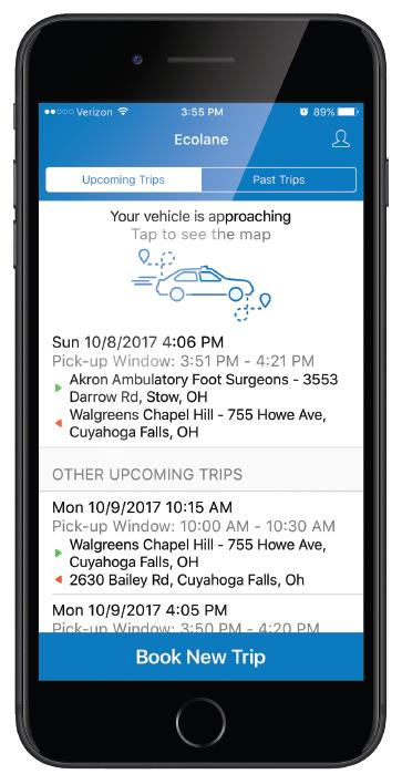 Ecolane Mobile App
