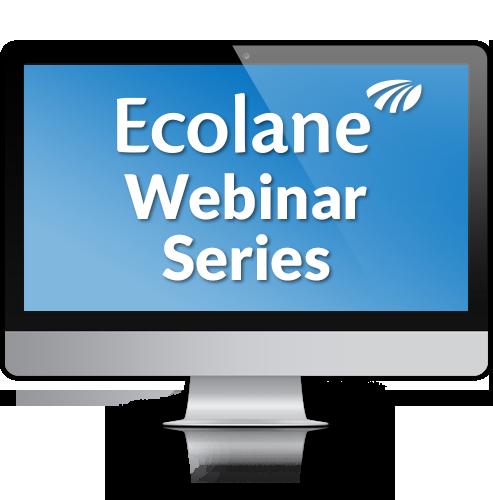 Ecolane Webinar Series Logo