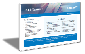 Transit Software and Demand Response Scheduling
