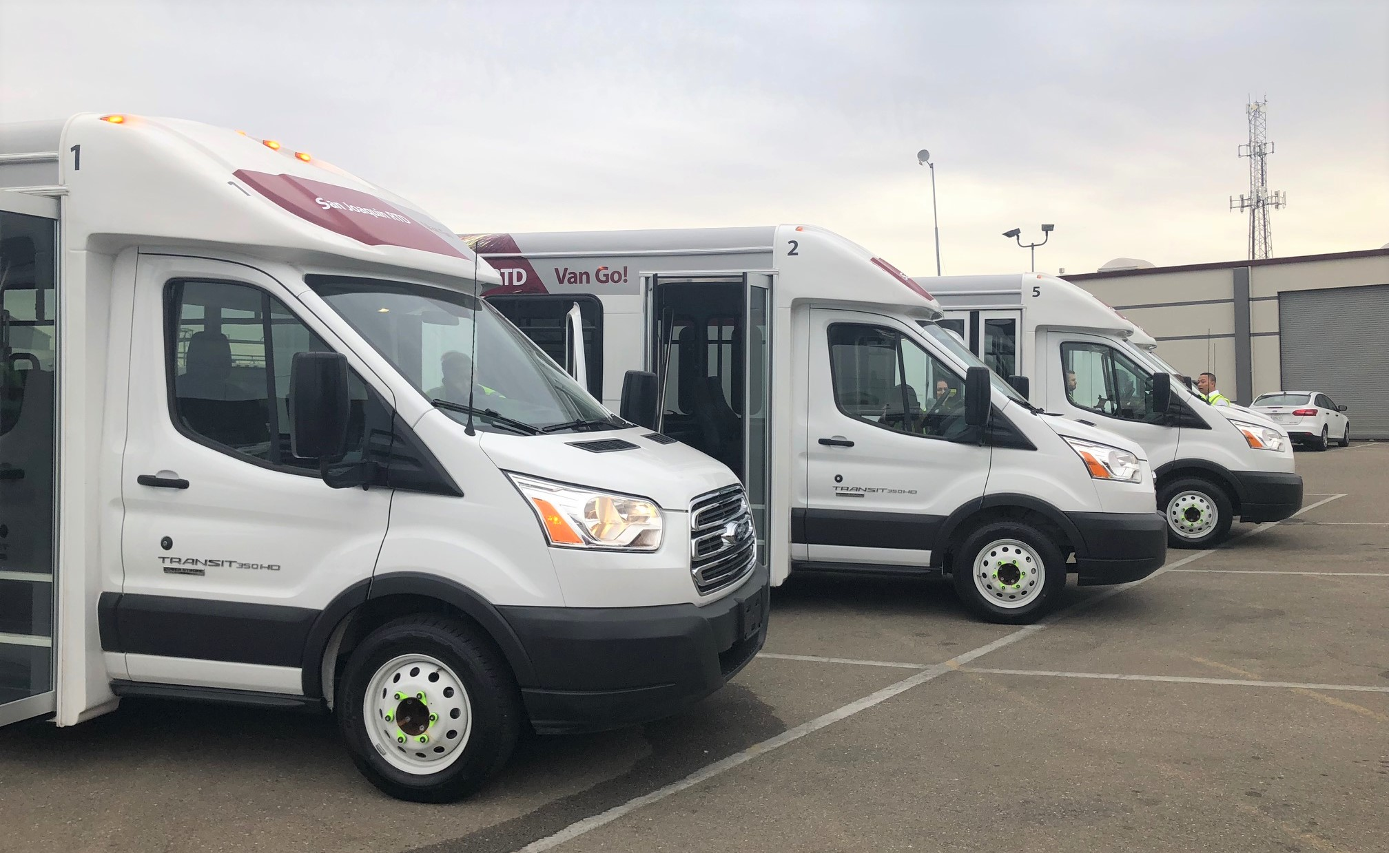 """Ecolane """"RTD Van Go!"""" App Delivers Complete Rider Control of Mobility-On-Demand For San Joaquin County"""