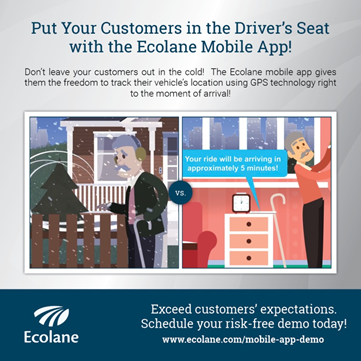 Using Ecolane's Mobile App for NEMT and other Transit  Needs
